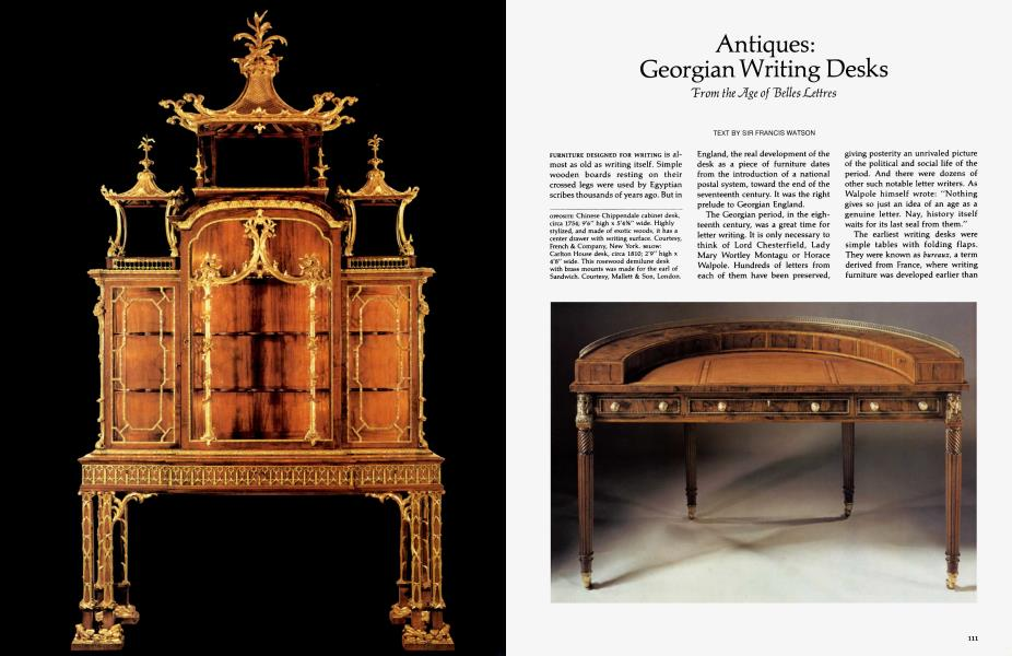 Groovy Antiques Georgian Writing Desks Architectural Digest Machost Co Dining Chair Design Ideas Machostcouk