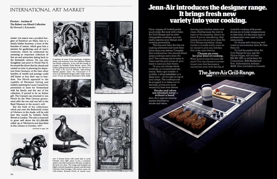 International Art Market | Architectural Digest | JUNE 1978