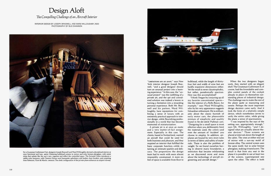 Design Aloft | Architectural Digest | NOVEMBER 1979