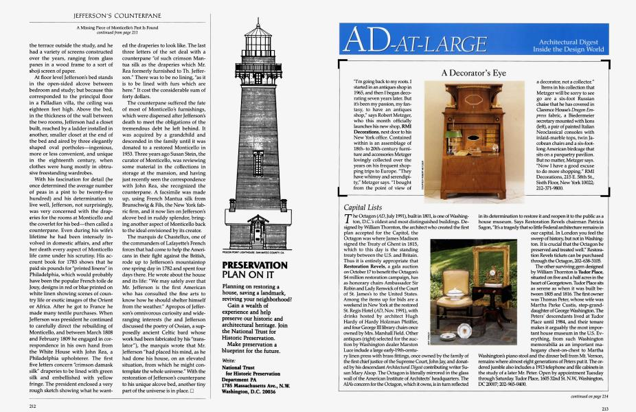 AD-AT-LARGE   Architectural Digest   SEPTEMBER 1992