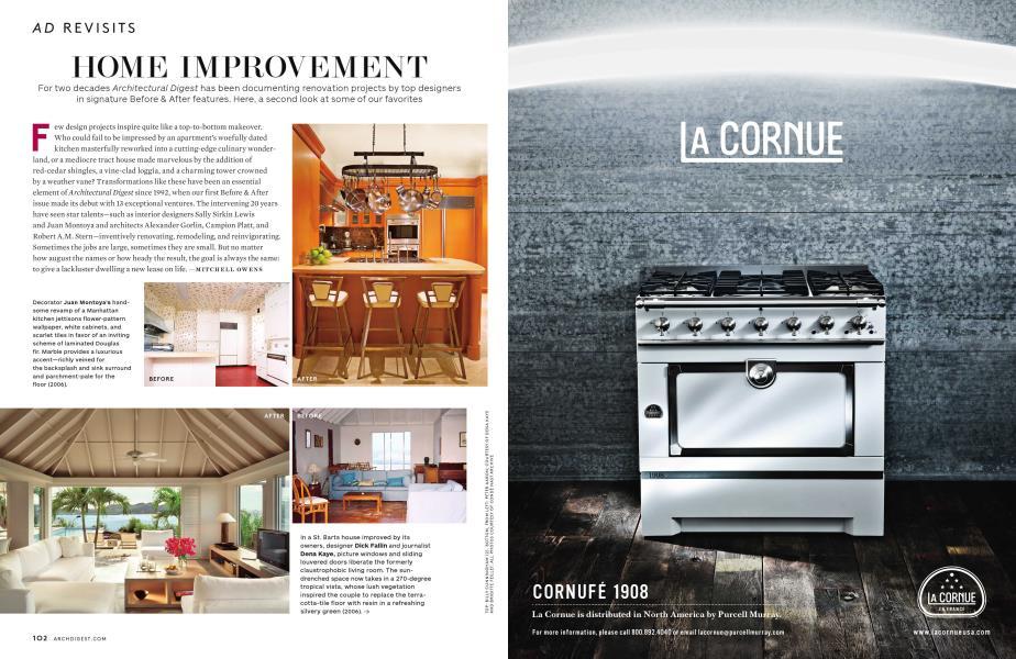 Home Improvement Architectural Digest November 2012