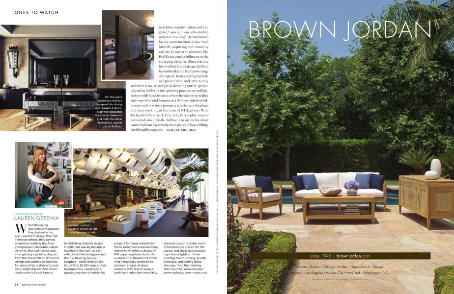 Awe Inspiring Lauren Geremia Architectural Digest January 2013 Pdpeps Interior Chair Design Pdpepsorg